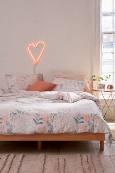 Lillian Floral Duvet Cover - Urban Outfitters