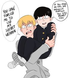 Mob Psycho 100 Anime, Mob Physco 100, Friends, Anime Manga, Punch, Fanart, Artsy, Fandoms, Comics