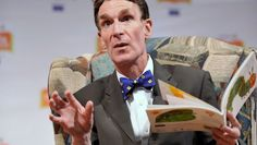 Bill Nye reads.  Happy B-day, science guy.