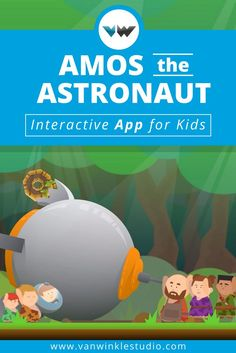 Download our interactive app for kids, Amos the Astronaut. Help Amos make new friends, complete activities, and fix his ship so he can blast off into the great unknown! This interactive and educational app can be downloaded on iPhone, iPad, and iPod touch.