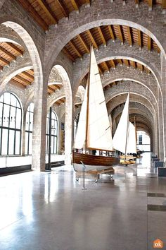 The Museum has a collection of original crafts for work and leisure and most of which comes from the Catalan coast. Barcelona Tourism, Maritime Museum, Seaside, Coast, Culture, History, City, Travel, Collection