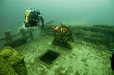 Wreck diving in the Great Lakes - Matador Network