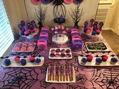 Megyn's Vampirina 4th Birthday Party | CatchMyParty.com