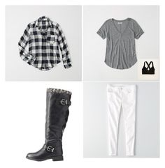 """""""Untitled #373"""" by eliz171 on Polyvore featuring Abercrombie & Fitch, American Eagle Outfitters, Aerie and Charlotte Russe"""