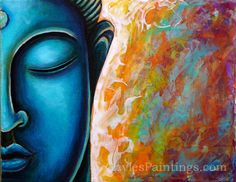 Shop for buddha art from the world's greatest living artists. All buddha artwork ships within 48 hours and includes a money-back guarantee. Choose your favorite buddha designs and purchase them as wall art, home decor, phone cases, tote bags, and more! Buddha Kunst, Buddha Art, Buddha Head, Painting Process, Painting Videos, Canvas Art, Canvas Prints, Art Prints, Small Canvas