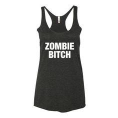 Zombie Bitch Women's tank top