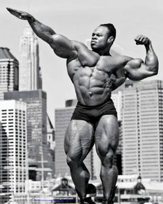 Kai Greene -- one of the best and most popular Pro Bodybuilders in the world!