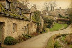 Bibury, Gloucestershire, Angland