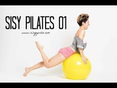 Pilates with a Stability Ball! Pilates Video, Zumba Fitness, Stability Ball, Youtube, Gym Equipment, Exercise, Full Body, Gin, Exercise Ball