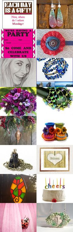 Rainy Days and Mondays Always Get Me Down... by Rita on Etsy--Pinned with TreasuryPin.com