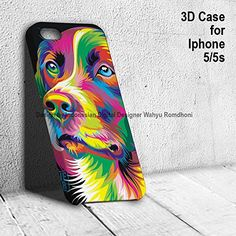 3d Iphone Case 5/5s Cute Dog Golden Retriever Colorful Animal freeman06 http://www.amazon.com/dp/B00TDXZYMY/ref=cm_sw_r_pi_dp_Aoswvb0HM0HZ5 #iphonecases #iphone #iphone6case #iphone6 #animals #animallovers #dog
