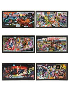 Grayson Perry tapestries of the social classes