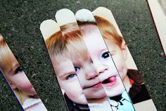 Make Your Own Photo Puzzle With Craft Sticks