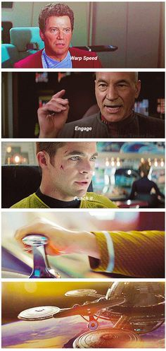 <3 Thank you new Star Trek movies for helping me feel like a trekkie! I actually have a desire to watch more Star Trek now. :) <<<<< THAT RIGHT THERE is just one good reason the reboot is fantastic. We are converting people to Original Trek. <3 <3 <3
