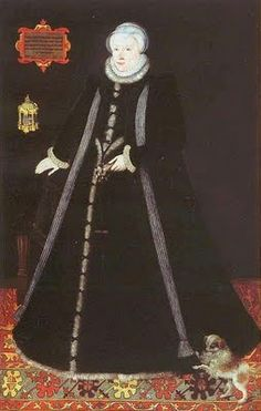 Margaret Douglas, Countess of Lennox, daughter of Margaret Tudor, Queen of Scotland by lisby1, via Flickr. A Roman Catholic.