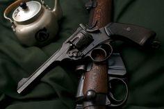 You're not bulletproof..., Webley MK VI A classic British military revolver,...