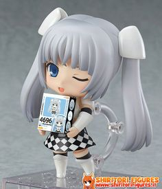 Miss Monochrome The Animation Nendoroid Action Figure Miss Monochrome 10 cm ( Good Smile Company )