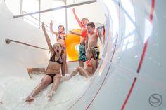 Stock Reifenrutsche im Aqua Fun Park Aqua, Park, Families, Kids, Water, Parks