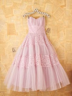 """Vintage party dress - we used to play """"dress-up"""" all the time!!"""
