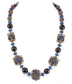 Cyclic Orbitals necklace - Cindy Holsclaw