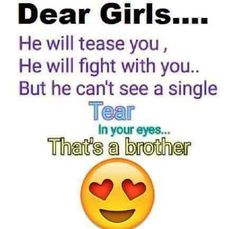 Tag-mention-share with your Brother and Sister 💙💚💛👍 Bro Quotes, Sister Quotes Funny, Girly Quotes, Funny Quotes, Qoutes, Nephew Quotes, Funny Sister, Family Quotes, Motivational Quotes