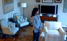 Olivia Pope's apartment on Scandal-living room 6