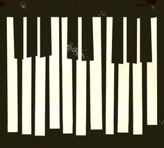 Vintage Music Poster on Flickr: Jeff Rochester, Music, music poster, poster, piano,piano key board