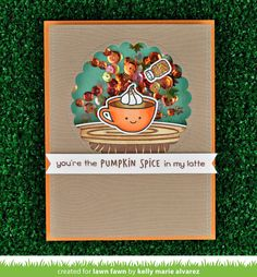 the Lawn Fawn blog: Lawn Fawn Intro: How You Bean? Candy Corn Add-On, Pumpkin Spice