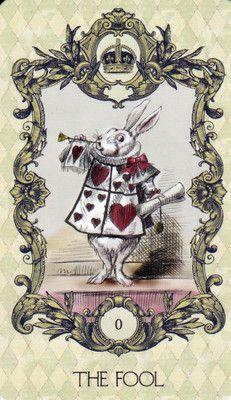 *WHITE RABBIT ~ Alice in wonderland tarot 22 major arcana cards deck Lewis Carroll, La Danse Macabre, Major Arcana Cards, Adventures In Wonderland, Oracle Cards, Wonderland Party, Through The Looking Glass, Tarot Decks, Fairy Tales