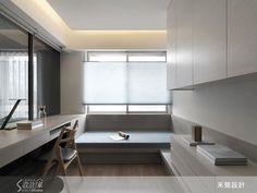現代風的裝潢圖片為禾築國際設計的設計作品,該設計案例是一間新成屋(5年以下)總坪數為37,格局為三房,更多禾築國際設計設計案例作品都在設計家 Searchome