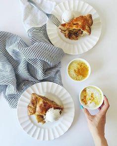 #NationalDessertDay calls for an EPIC treat.  Salted caramel apple pie anyone?  [image: @julieskitchen via @latermedia]  - - - #fridayeats #nationaldessertday #dessert #yummy #nomnom #friyay #tastytreats #latermedia #repost #regram #applepie #pie #food #treatyoself #treatyourself #tgif #foodie #foodies #getinmybelly #thisiswhatlovelookslike #instagood #instadaily #loveatfirstbite