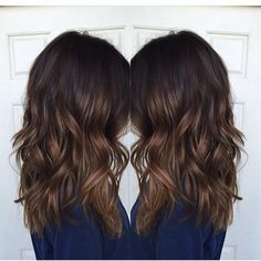 brunette highlights - Google Search