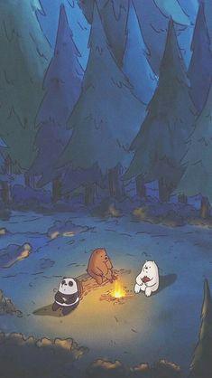 We bare bears Bear Wallpaper, Mood Wallpaper, Aesthetic Pastel Wallpaper, Iphone Background Wallpaper, Cute Disney Wallpaper, Cute Cartoon Wallpapers, Kawaii Wallpaper, Cute Wallpapers For Iphone, Panda Wallpapers