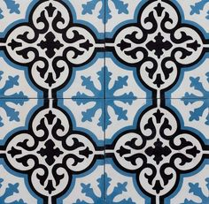 Cement Encaustic – Toronto Tiles | Saltillo Imports Inc. Toronto Green Mosaic Tiles, Encaustic Tile, Cement, Toronto, New Homes, Interior, House, Indoor, Home