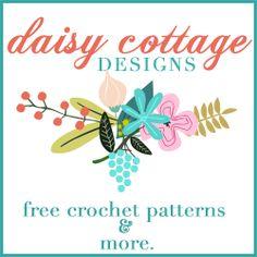 FABULOUS free crochet patterns here: Daisy Cottage Designs