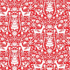 Scandinavian folk art Xmas designs More Swedish Christmas, Noel Christmas, Christmas Paper, Scandinavian Christmas, Christmas Design, Christmas Crafts, Christmas Patterns, Christmas Pattern Background, Christmas Tables