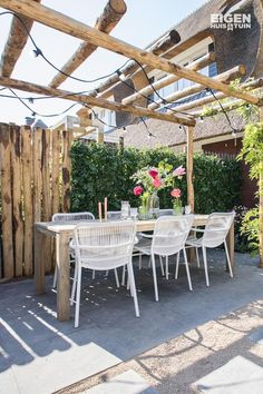 The wooden pergola is a good solution to add beauty to your garden. If you are not ready to spend thousands of dollars for building a cozy pergola then you may devise new strategies of trying out something different so that you can re Diy Pergola, Pergola Canopy, Outdoor Pergola, Wooden Pergola, Pergola Kits, Pergola Ideas, Pergola Lighting, Garden Arbor, Balcony Garden