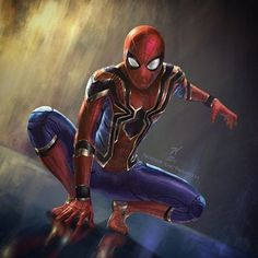 "2,767 Likes, 17 Comments - Tyler Scott Hoover (@tstunningspidey) on Instagram: ""#SpiderManHomecoming #IronSpider suit Artist: @the_knott #SpiderMan #Spidey #PeterParker #Marvel…"""