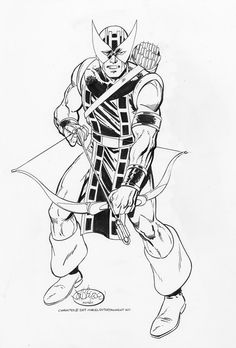 Hawkeye by John Byrne