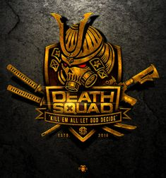 Death Squad - Help establish the brand of Hong Kongs premier professional airsoft team We are a professional airsoft (wargame) sports team based in Hong Kong made up of some of the most experienced player. Death God, Logo Branding, Logos, Game Logo, Fitness Logo, Monogram Logo, Sports Logo, Logo Inspiration, Logo