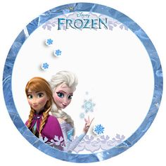 Frozen: Free Printable Toppers. http://eng.ohmyfiesta.com/2014/02/frozen-free-printable-toppers.html