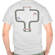 Race Track T-shirt Awesome!