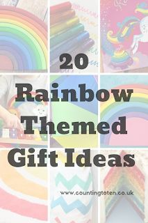 08d8692ce1b12 20 Rainbow Themed Gift Ideas perfect for Christmas or Birthday. Filled with  present inspiration for babies