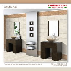 Bathroom Tiles - www.orientbell.com