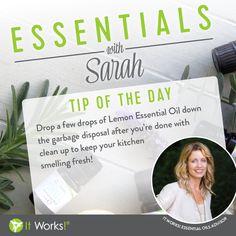 Essential Oils Tip: Lemon