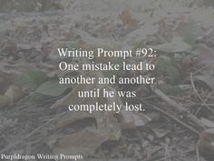 Writing Prompt 92