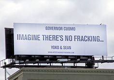 imagine no fracking