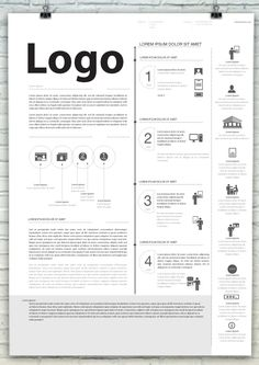 Poster b/w icon and text on Behance