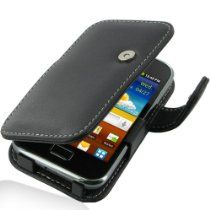 Samsung offer PDair Leather Case for Samsung Galaxy Ace Plus GT-S7500 - Book Type (Black). This awesome product currently limited units, you can buy it now for  $37.99, You save - New