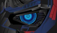 Cyber eye Origami Studio, Bmw Logo, New Work, Transformers, Cyber, Logos, Gallery, Behance, Random